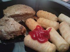 veganes Zwiebel-Rahm-Schnitzel mit Kroketten - vegane Rezepte auf Laubfresser
