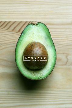 Avocado and typography
