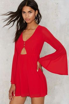 In Love with the Keyhole Dress - Dresses