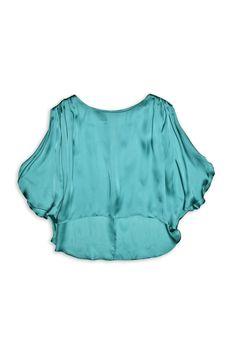 Satin Sleeveless Top // Costa Blanca Costa, Ruffle Blouse, Satin, Culture, Tops, Women, Fashion, Moda, Women's