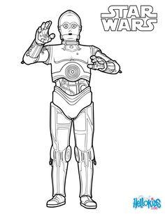 Star Wars M larbilder f r barn Teckningar online till