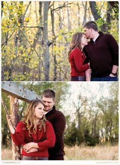 Outdoor Engagement Session by Moment to Moment Wedding Photography.