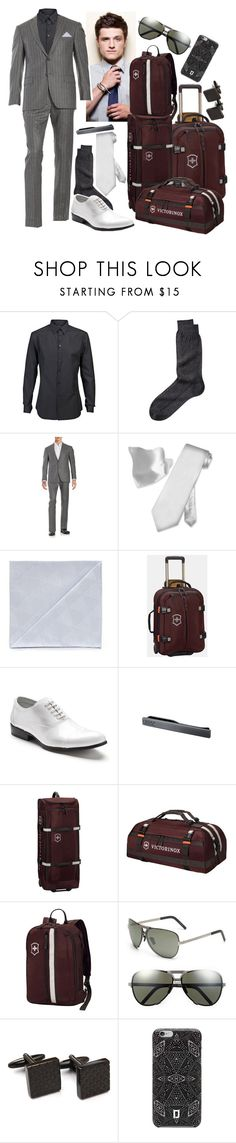 """""""maddox - boarding the cruise"""" by kinathegreat ❤ liked on Polyvore featuring Givenchy, Michael Kors, Armani Collezioni, Victorinox Swiss Army, Stacy Adams, Porsche Design, DANNIJO, men's fashion and menswear"""