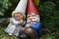 Gnomes+Cake+Topper+Custom+Wedding+Garden+Gnomes+by+PhenomeGNOME,+$1,099.99