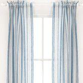 Found it at AllModern - Pine Cone Hill Honfleur Linen Rod Pocket Curtain Single Panel