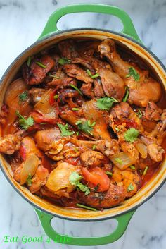 Caribbean chicken. This is one of our favorite chicken recipes to make. So much flavor!