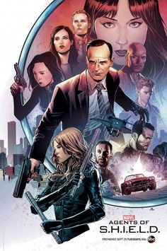 The official Marvel's 'Agents of SHIELD' Season 3 Comic-Con poster shows off Coulson's new hand, also teasing a difficult separation for Bobbi and the team. Poster Marvel, Marvel Comics, Marvel Heroes, Marvel Avengers, Agents Of Shield Comic, Agents Of Shield Seasons, Marvels Agents Of Shield, Phil Coulson, Young Guns