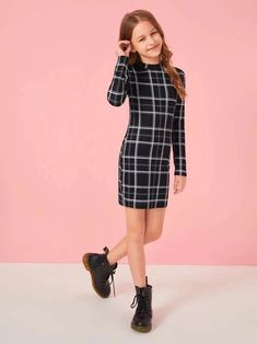 Preteen Girls Fashion, Teenage Girl Outfits, Girls Fashion Clothes, Dresses Kids Girl, Kids Outfits Girls, Cute Outfits For Kids, Teen Fashion Outfits, Pretty Outfits, Stylish Outfits