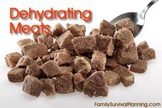 How to Dehydrate Meats