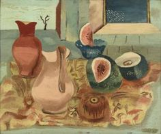 Cut melons - Collections Online - Museum of New Zealand Te Papa Tongarewa World Of Wearable Art, New Zealand Art, Nz Art, Examples Of Art, Beautiful Paintings, Wood Carving, Still Life, Surrealism, Art Pieces