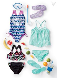 Bikini, tankini or one-piece? We have a swim style for every spring vacay adventure.