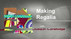 Making Regalia - Show #002. Juaquin Lonelodge continues the tipi applique project which began in Show 1. On this episode, Juaquin explains t...