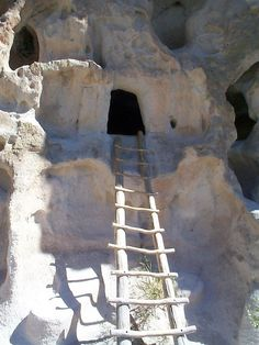 Bandolier National Monument, New Mexico (I've been to Santa Fe before...but would love to go here again)