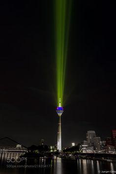 Medienhafen Düsseldorf by JuergenGatte