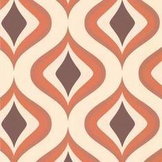 Mad Men wallpaper by Graham & Brown - Retro Renovation 60s Wallpaper, Trippy Wallpaper, Paper Wallpaper, Wallpaper Decor, Modern Wallpaper, Textured Wallpaper, Designer Wallpaper, Wallpaper Backgrounds, Remove Wallpaper