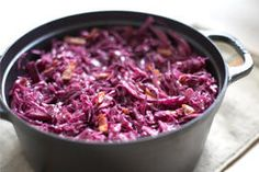 German red cabbage with bacon