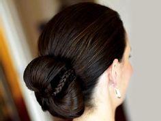 Long Hairstyles Weddings Low Updo | Bridal Hairstyles - Bridal Hairstyle Ideas, Haircut Styles For Indian ...
