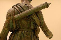 Bronze statue of Artemis, Detail   Flickr - Photo Sharing!
