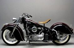 1946 Indian Chief 1200 from Yesterday's Indian Motorbike, Vintage Indian Motorcycles, Antique Motorcycles, Vintage Bikes, Triumph Motorcycles, American Motorcycles, Custom Motorcycles, Custom Bikes, Bobbers