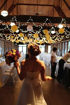 love the lights and lanterns