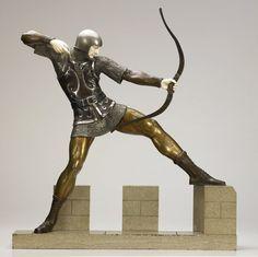 63: Pierre Le Faguays (French, 1892-1925) Archer (Tire : Lot 63
