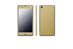 https://flic.kr/p/vMNT1M | new Gold Brushed | Sony Xperia Z3 T-Mobile D6616 or International Dual Sim D6633 Now available for purchase!!  Click the link below to make your purchase: www.stickerboy.net/pages/sony-xperia-z3-skin-series