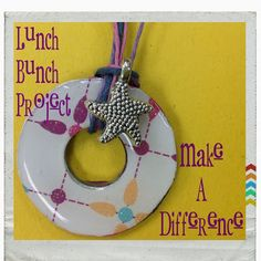 A cute Lunch Bunch Project to use as a reminder to Make A Difference!