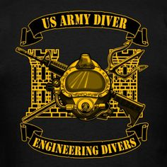 Army Diver w/ NDSTC - Men's T-Shirt