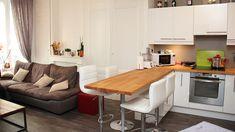 aménagement petite cuisine ouverte - Recherche Google