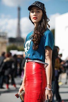 Paris | Ik moet sowieso een rood leren rok hebben; op de to do list dus