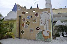 Terrace of the House of Artists with mini Jacuzzi pool and solarium facing the sea of Gallipoli (Le) Puglia