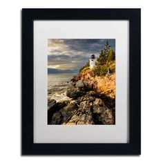 Trademark Art 'On the Bluff' by Michael Blanchette Framed Photographic Print