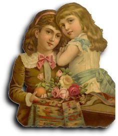 Victorian scrap: Girls | Flickr - Photo Sharing!