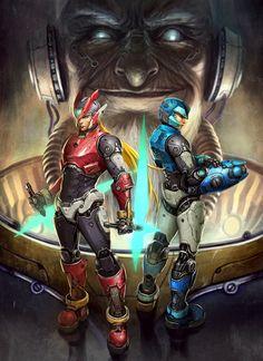 Megaman tribute by TGY on DeviantArt