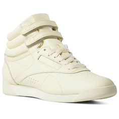 7554f12d49cfb Reebok Shoes Women s Freestyle Hi in Washed Yellow Size 10.5 - Lifestyle  Shoes Reebok