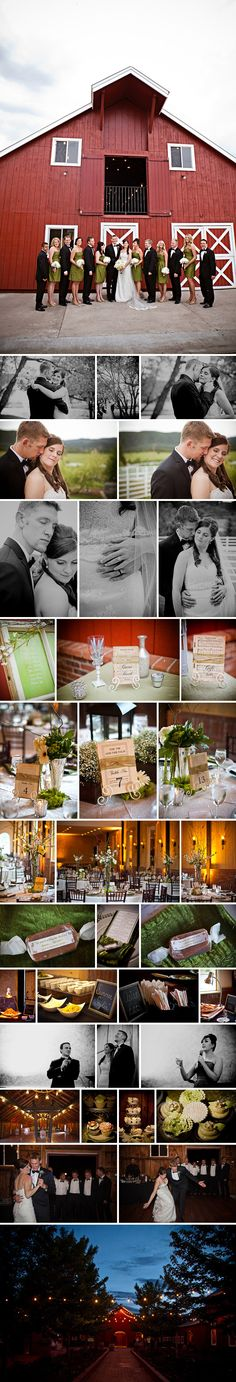 A Crooked Willow Farms Wedding, Larkspur, Colorado - www.paigeeden.com