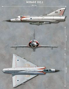 """""""Mirage IIICJ - Six Day War"""", Jim Laurier (Comment by original pinner. Military Jets, Military Aircraft, Air Fighter, Fighter Jets, South African Air Force, Dassault Aviation, Airplane Art, Aviation Art, Fighter Aircraft"""