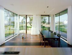 Salle à manger zen