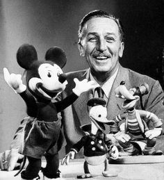 Walt Disney – Criador dos famosos Mickey Mouse e Pato Donald. Idade: 65 anos Motivo: Cancro de pulmão