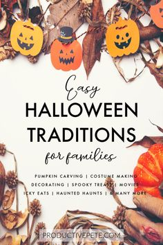 10+ Easy Family Halloween Traditions for Kids