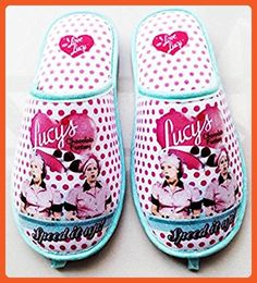 0f952493e92c I Love Lucy Slippers Chocolate Factory - One Size Fits Most - Slippers for  women ( · Party DressesCute DressesSummer ...
