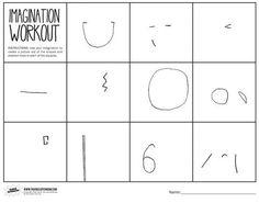 elementary art using imagination - Google Search