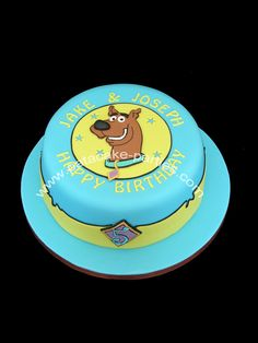 Scooby Doo Birthday Cake — Crafthubs