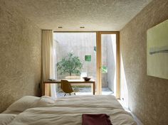 Wespi de Meuron Romeo architects, Hannes Henz · New House in Morcote Patio Interior, Home Interior Design, Interior Architecture, Interior And Exterior, Minimalist House Design, Minimalist Room, New Homes, Decoration, Furniture