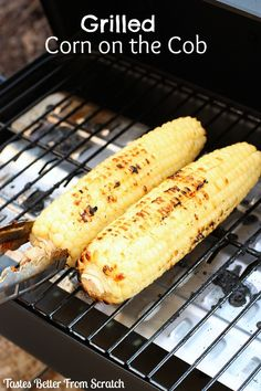Grilled Corn on the Cob recipe from TastesBetterFromScratch.com