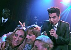 Who doesn't want to be photo bombed by Adam Lambert ;)