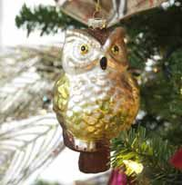 Brown Owl Ornament  want