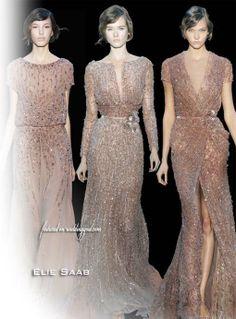 Elie Saab Bridal Fall 2011 Couture Wedding Dresses