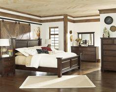 Ashley Hindell Park B695-50/71/96-31-36 Bedroom Set