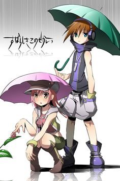 Neku and Shiki - The World Ends With You